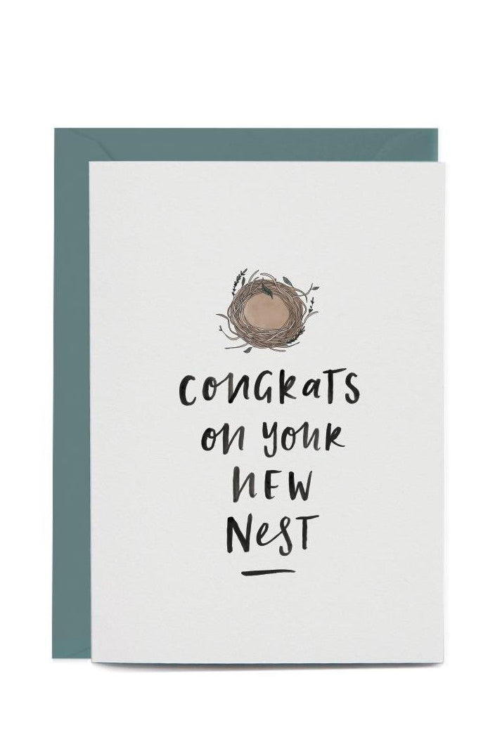 IN THE DAYLIGHT - CONGRATS ON YOUR NEW NEST - GREETING CARD - Tempted Kensington
