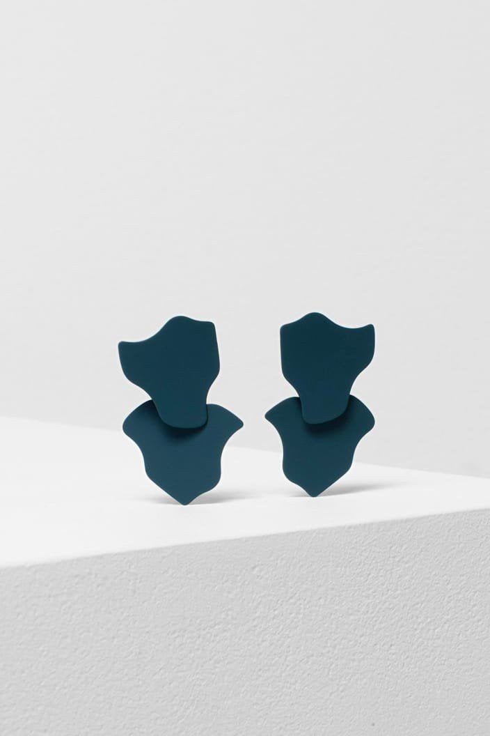 ELK THE LABEL - BIBI EARRING - TEAL - Tempted Kensington