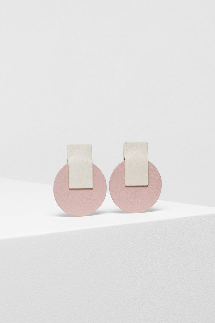 ELK THE LABEL - ANNI EARRINGS - IVORY / DARK NUDE - Tempted Kensington
