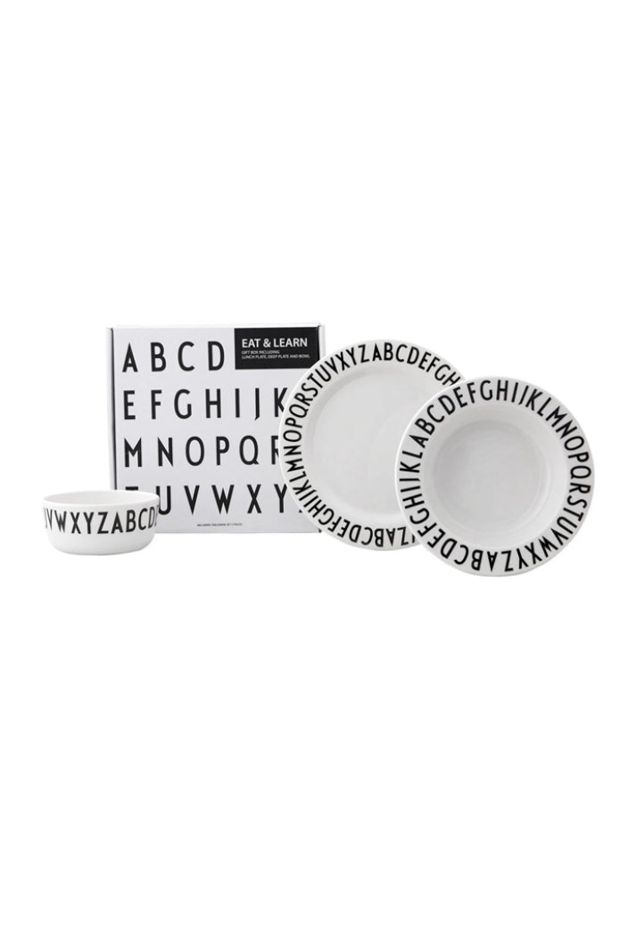 DESIGN LETTERS - EAT & LEARN GIFTBOX - ARNE JACOBSEN - Tempted Kensington