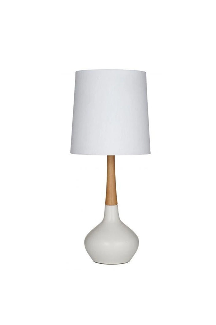 ELKE TABLE LAMP - WHITE