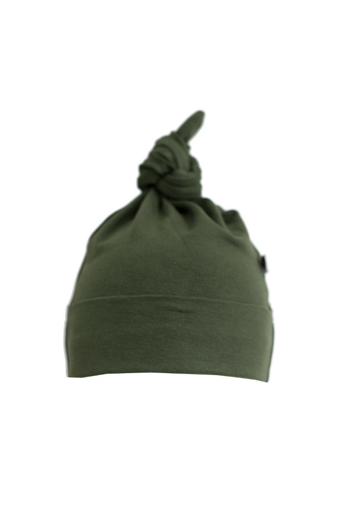 BURROW & BE - TOP KNOT HAT - PINE - Tempted Kensington