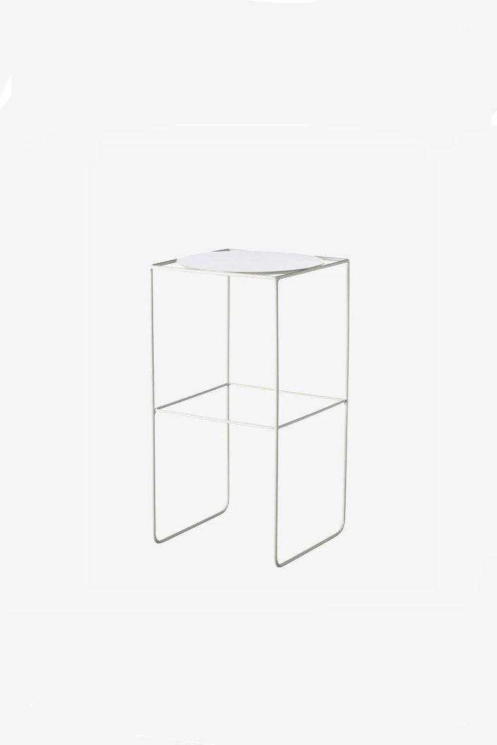 EVERGREEN COLLECTIVE - ALTO POT STAND - TALL - WHITE - Tempted Kensington