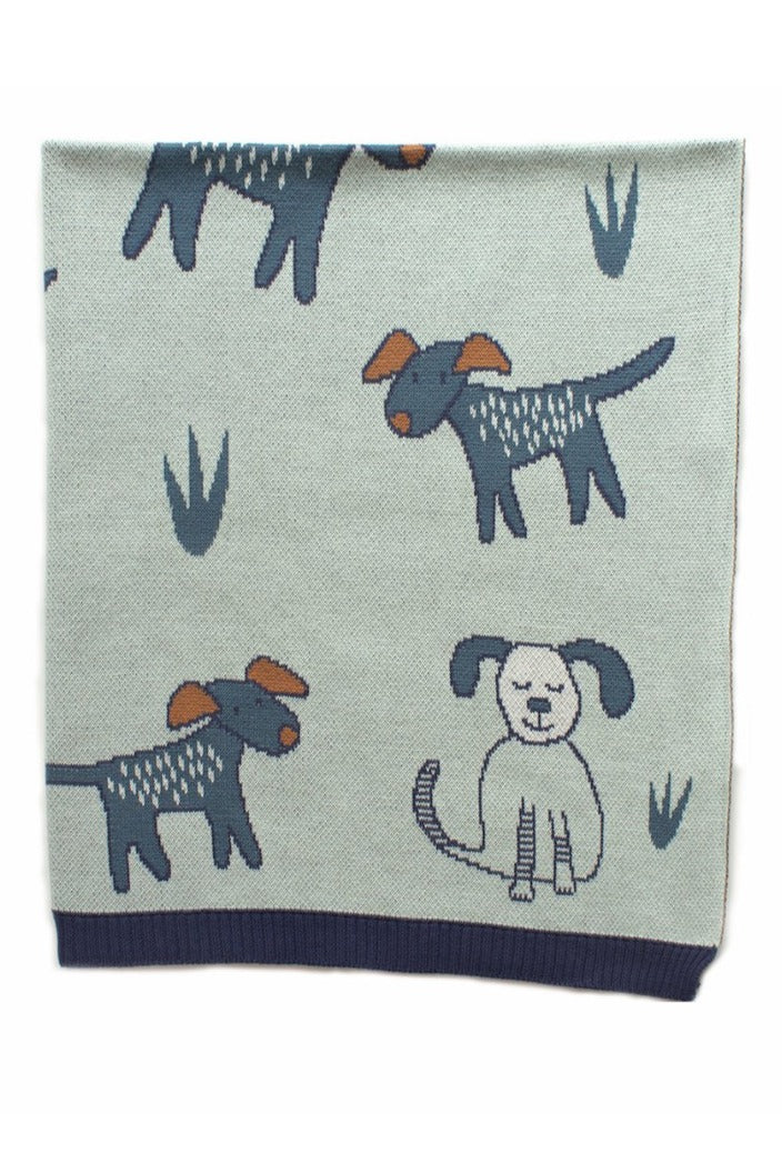 INDUS - BABY BLANKET - DOGS DAY OUT - Tempted Kensington