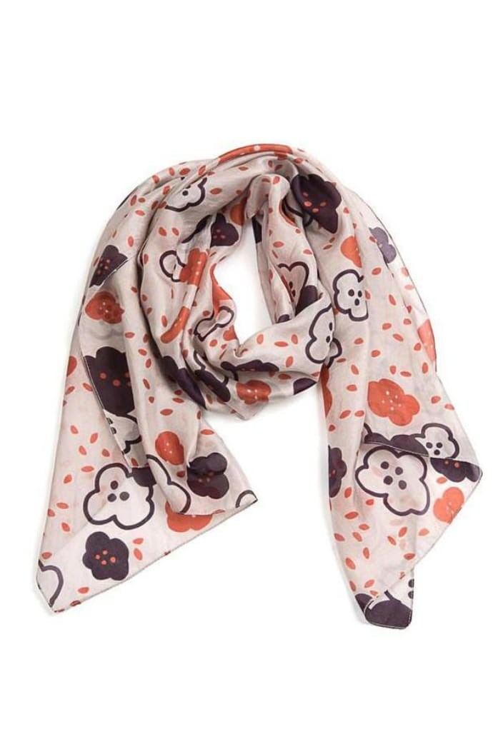 INDUS - BLOSSOM SCARF - BLUSH PLUM & BERRY - Tempted Kensington
