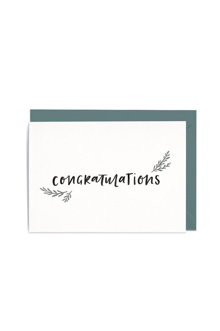 IN THE DAYLIGHT - CONGRATULATIONS - GREETING CARD - Tempted Kensington