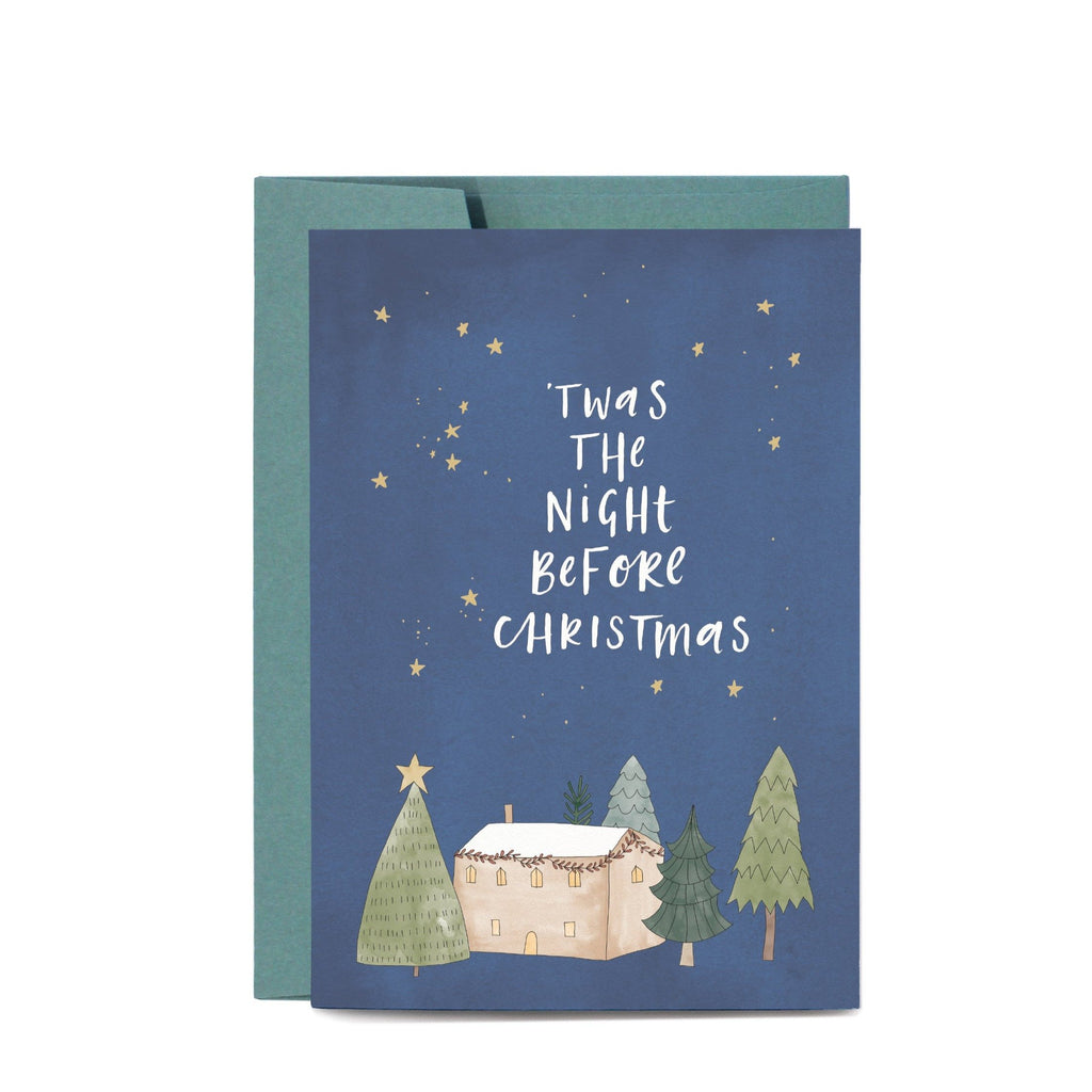 IN THE DAYLIGHT - NIGHT BEFORE CHRISTMAS - GREETING CARD - Tempted Kensington