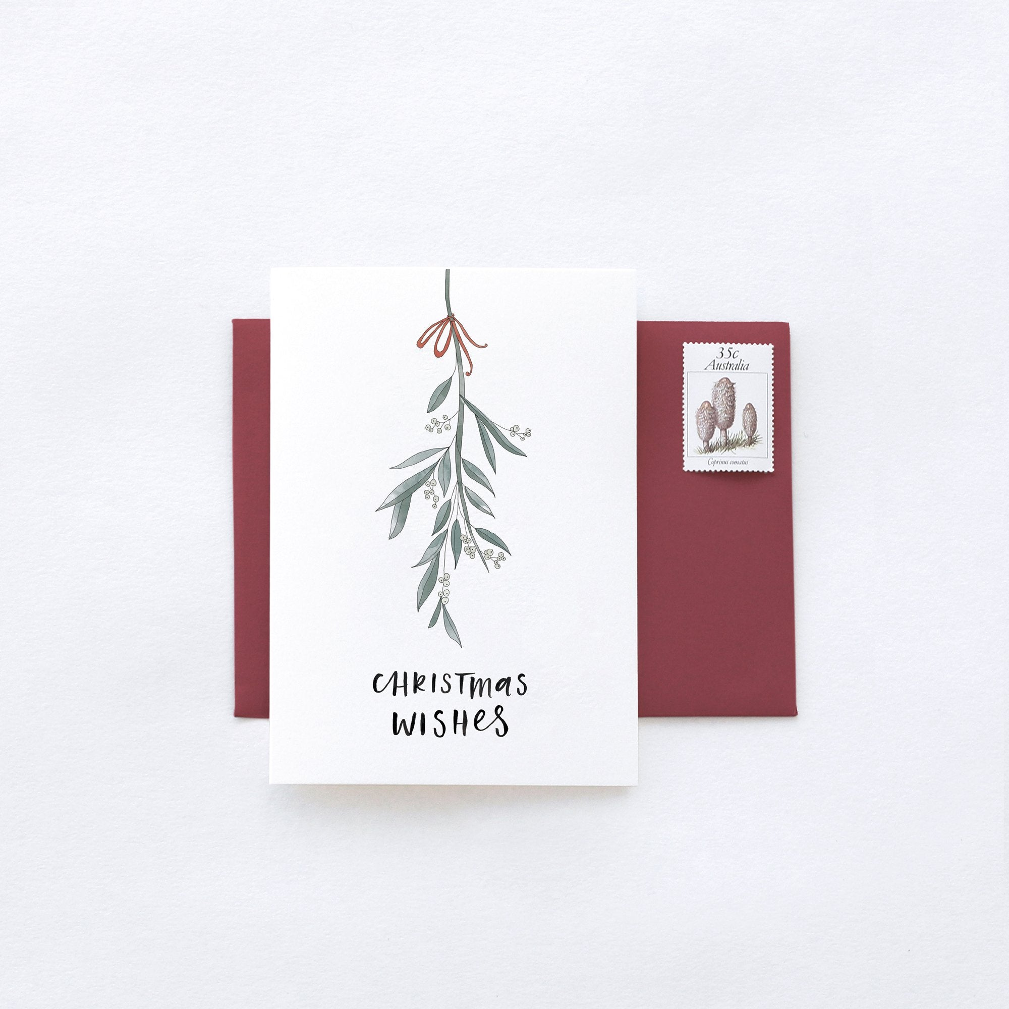 IN THE DAYLIGHT - CHRISTMAS MISTLETOE - GREETING CARD - Tempted Kensington