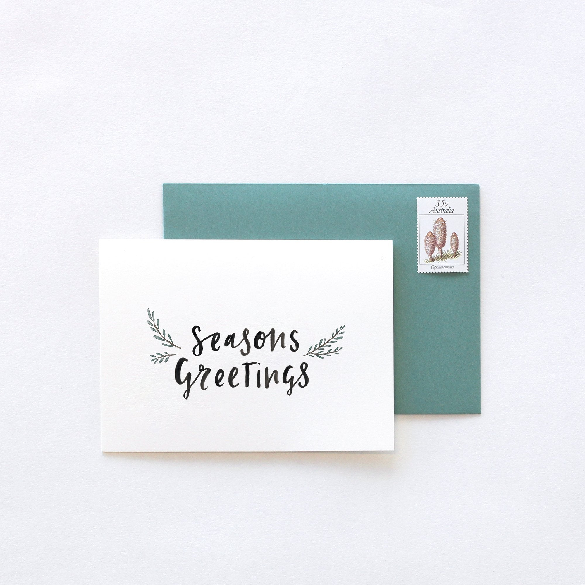IN THE DAYLIGHT - SEASONS GREETINGS CHRISTMAS - GREETING CARD - Tempted Kensington