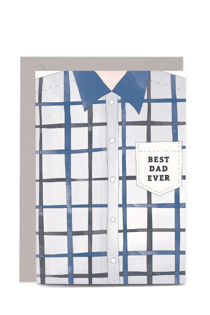 IN THE DAYLIGHT - BEST DAD EVER - GREETING CARD - Tempted Kensington