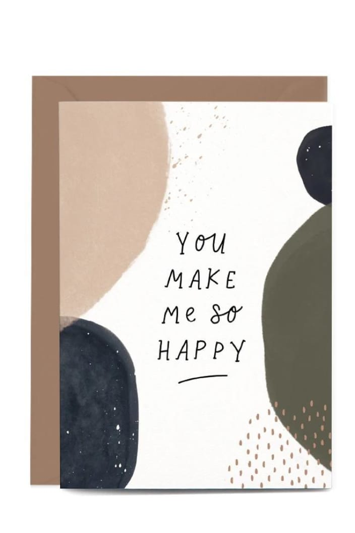 IN THE DAYLIGHT - YOU MAKE ME SO HAPPY - GREETING CARD - Tempted Kensington