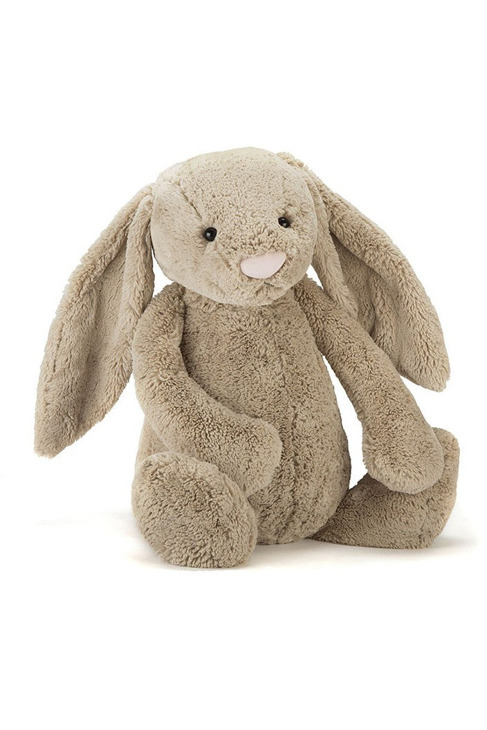 JELLYCAT - BUNNY BASHFUL - MEDIUM - BEIGE - Tempted Kensington