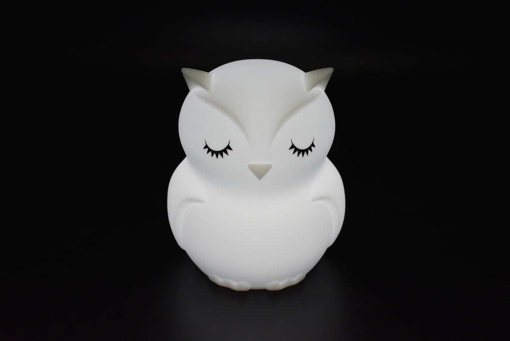 BEDTIME BUDDY RECHARGEABLE NIGHT LIGHT - BLINKY THE OWL-Tempted Kensington-Tempted Kensington