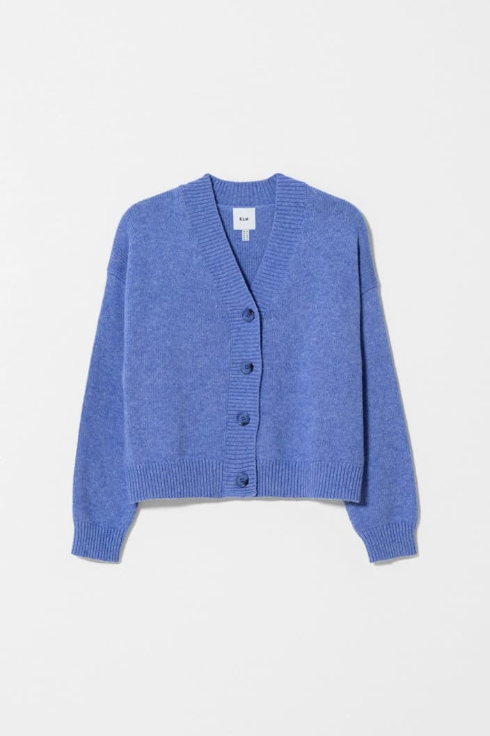 ELK THE LABEL - ADEN CARDIGAN - PERSIA BLUE - Tempted Kensington