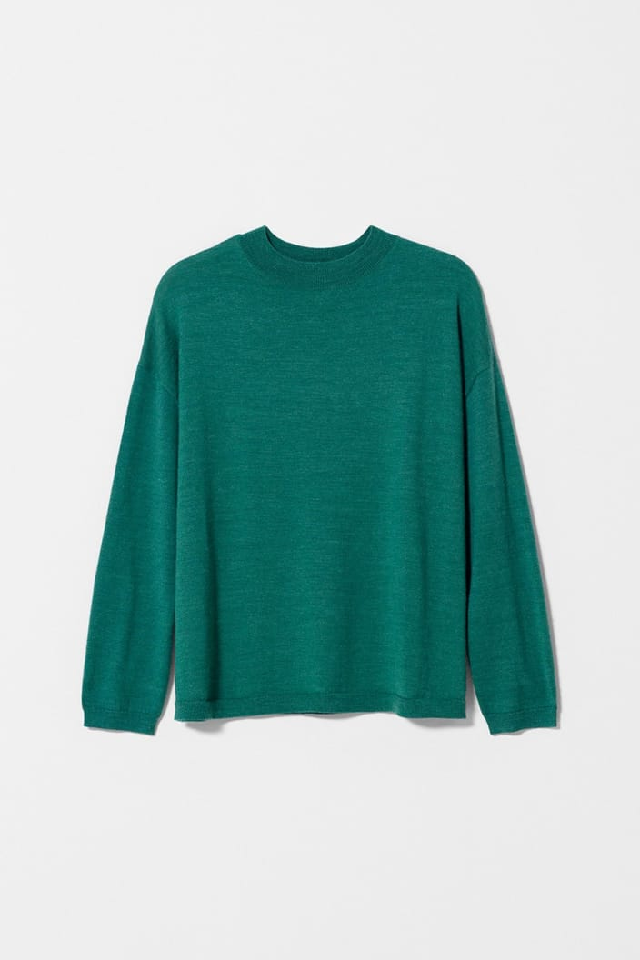 ELK THE LABEL - KARAH SWEATER - GREEN - Tempted Kensington