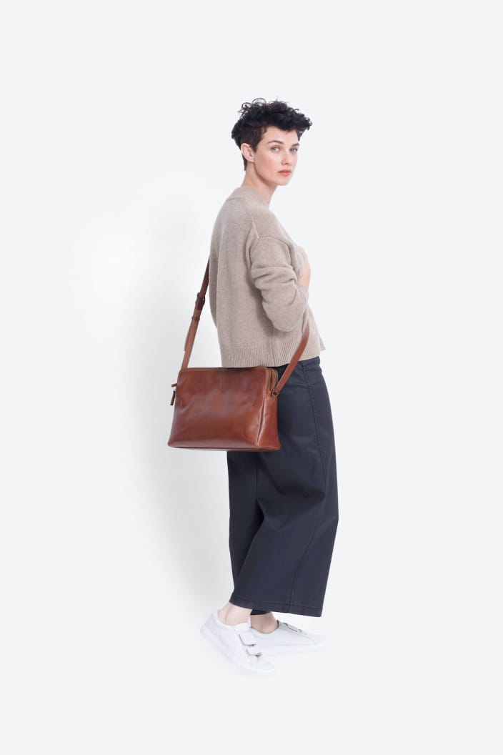 ELK THE LABEL - DAMMEI BAG - TAN / TAN - Tempted Kensington