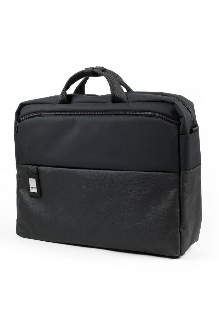 LEXON - SPY DOCUMENT BAG 15 BLACK