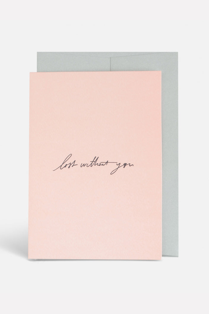 BLACKLIST - LOST WITHOUT YOU - GREETING CARD - Tempted Kensington