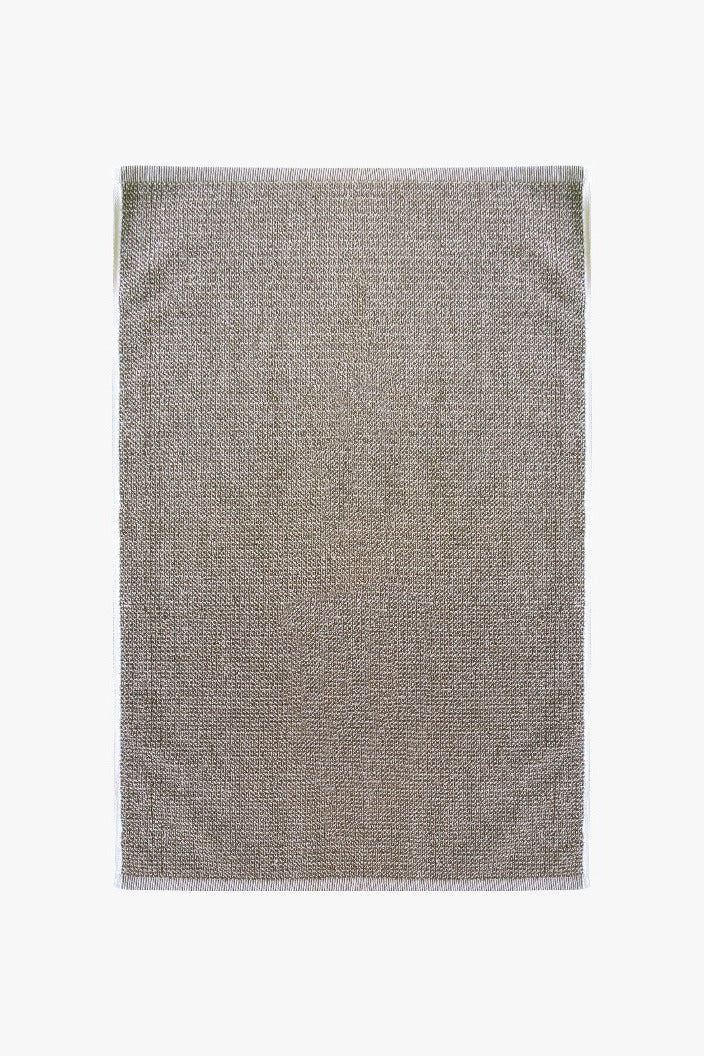 L & M HOME - TWEED BATH TOWEL - LIGHT