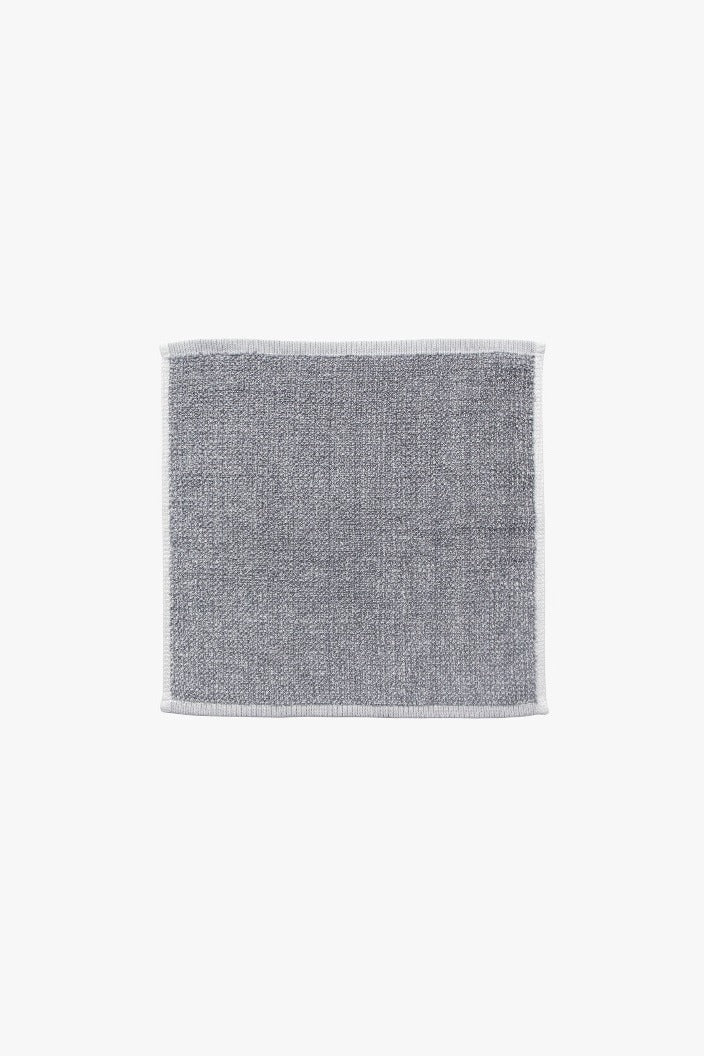 L & M HOME - TWEED FACE TOWEL - GREY - Tempted Kensington