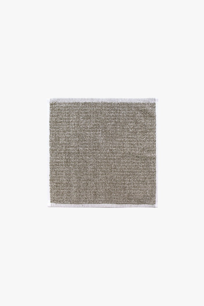 L & M HOME - TWEED FACE TOWEL - LIGHT