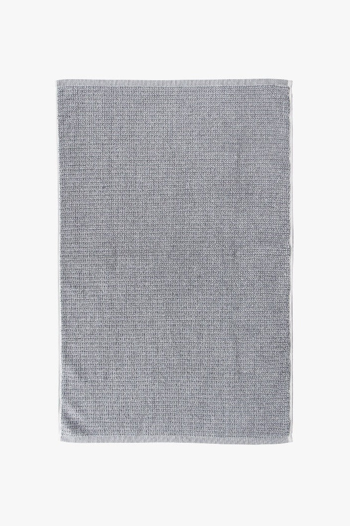 L & M HOME - TWEED HAND TOWEL - GREY