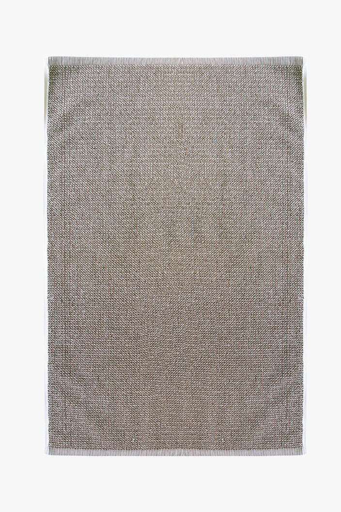 L & M HOME - TWEED HAND TOWEL - LIGHT