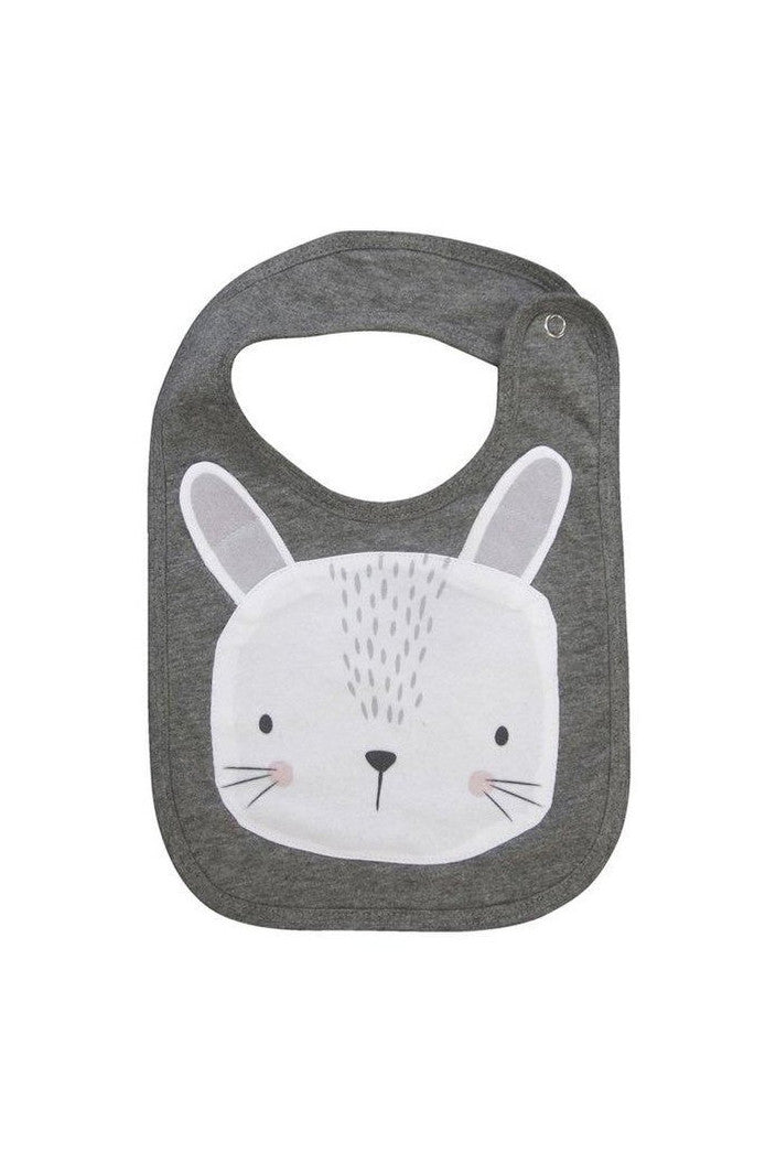 MISTER FLY - BIB - BUNNY - GREY - Tempted Kensington
