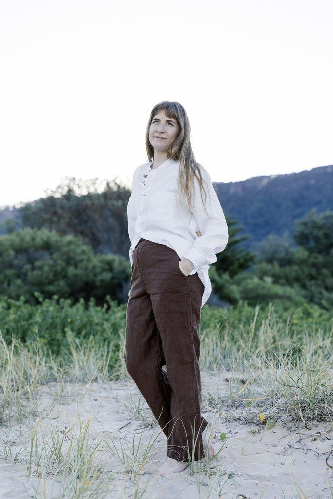 MISS MOLLY - SQUIRE PANTS - LINEN - Tempted Kensington