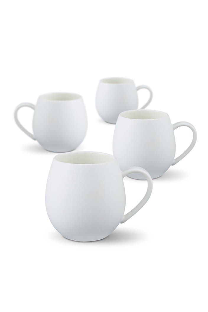 ROBERT GORDON - HUG ME MUG 4 PACK - MATTE WHITE-Tempted Kensington-Tempted Kensington