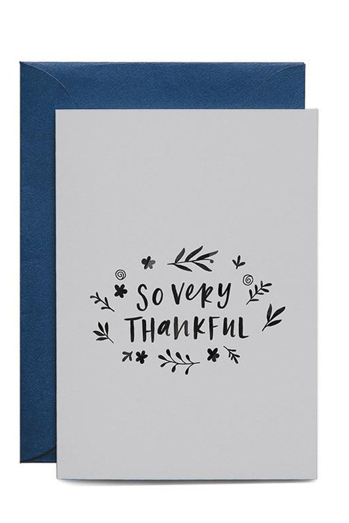 IN THE DAYLIGHT - SO VERY THANKFUL - GREETING CARD - Tempted Kensington