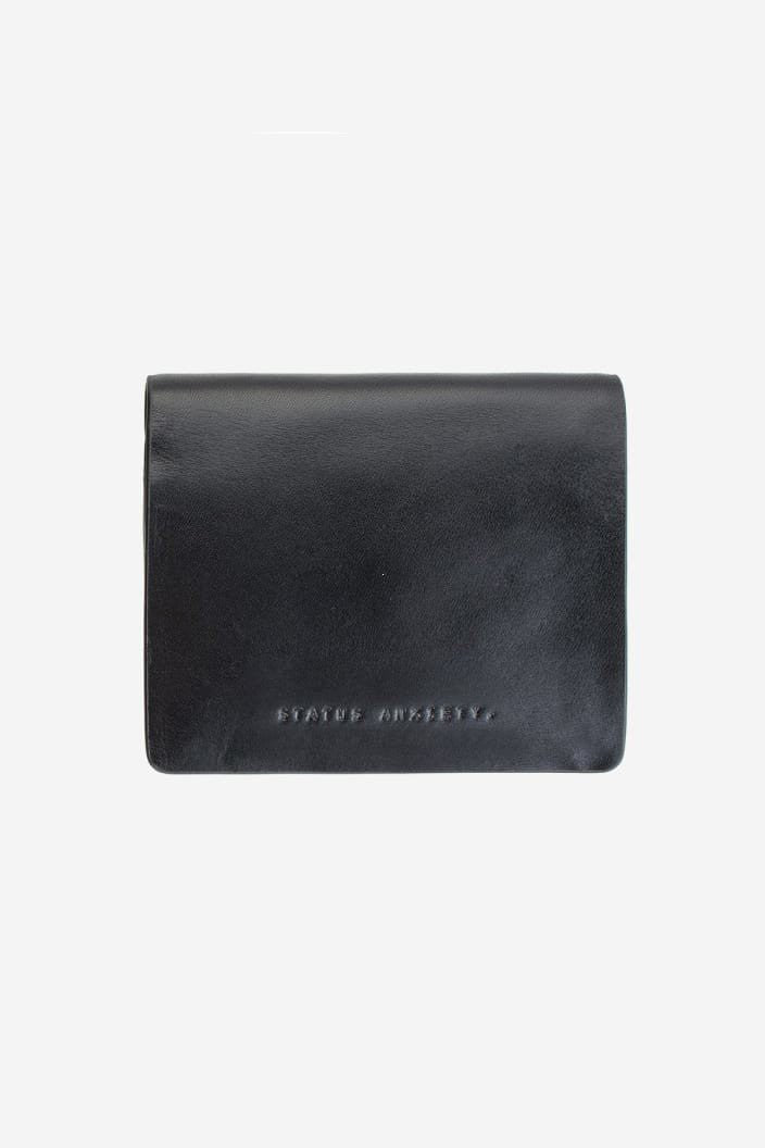 STATUS ANXIETY - NATHANIEL WALLET - BLACK - Tempted Kensington
