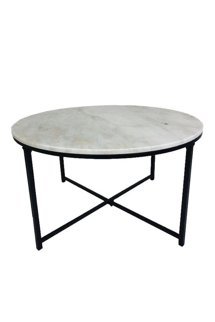 F.W - TOBY MARBLE COFFEE TABLE - Tempted Kensington