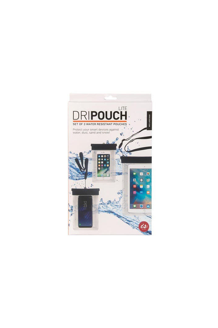 I.S - WATER-RESISTANT DRIP-POUCH LITE SMART PHONE POUCH - SET OF 3 - Tempted Kensington