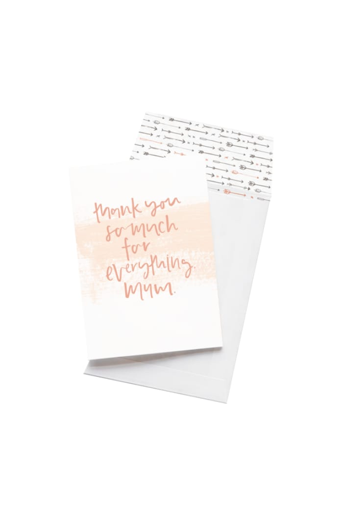 EMMA KATE CO. - THANK YOU FOR EVERYTHING, MUM - GREETING CARD - Tempted Kensington