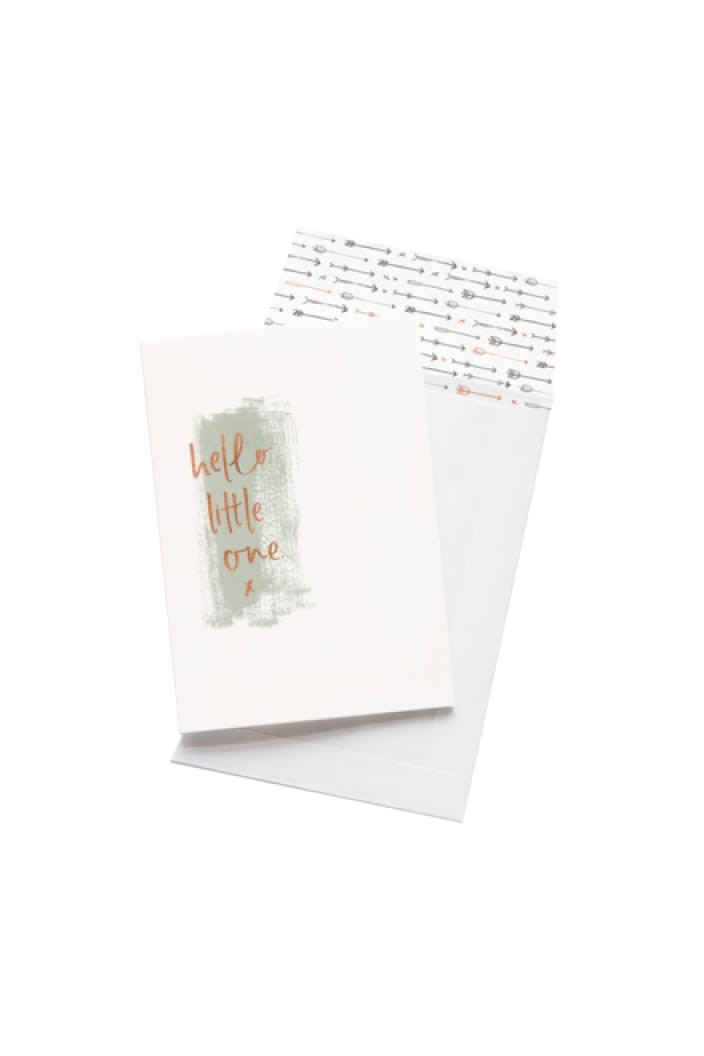 EMMA KATE CO. - HELLO LITTLE ONE - GREETING CARD - Tempted Kensington