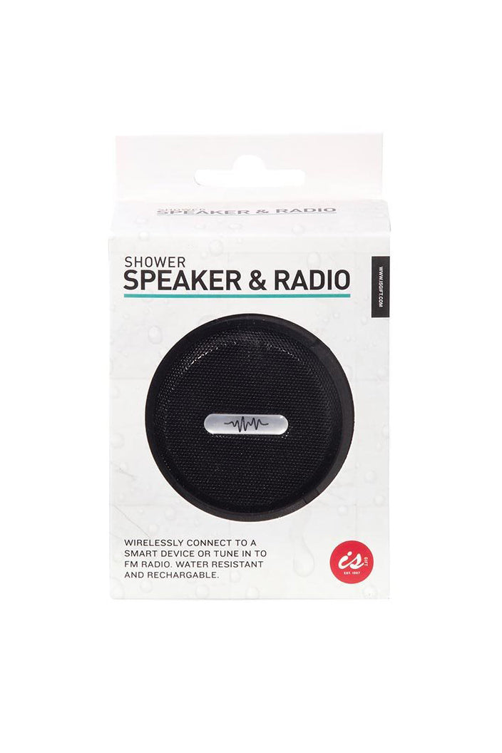 WIRELESS SHOWER SPEAKER AND RADIO-Tempted Kensington-Tempted Kensington