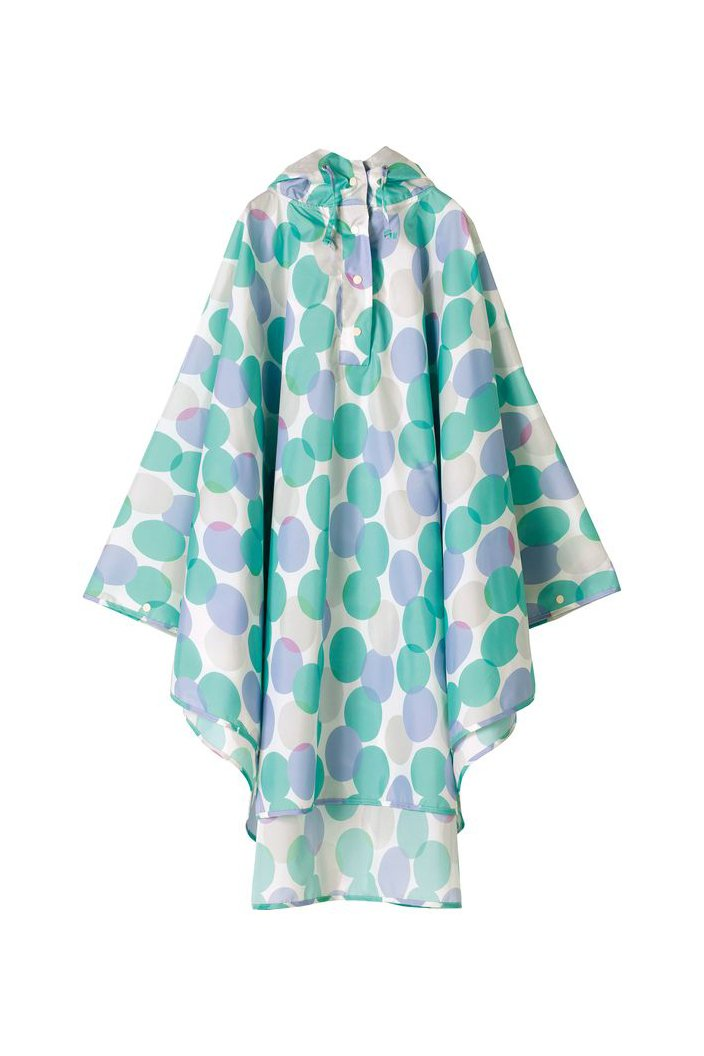 WPC - PONCHO RAIN COAT - ONE SIZE - MUNA DOT - Tempted Kensington