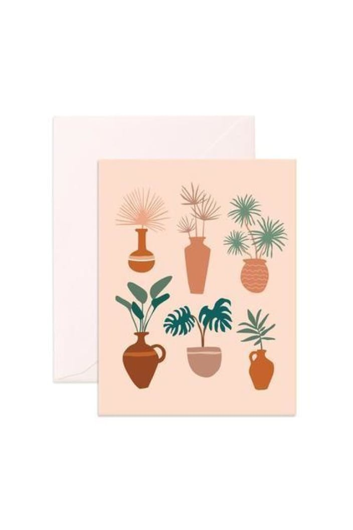 FOX & FALLOW - MUSE VASES - GREETING CARDtemp - Tempted Kensington