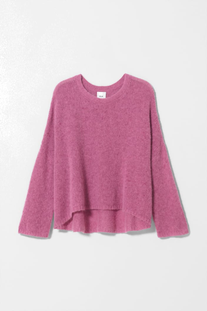ELK THE LABEL - AGNA SWEATER - ROSE - Tempted Kensington