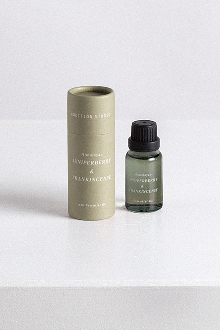 ADDITION STUDIO - ESSENTIAL OIL - FRANKINCENSE & JUNIPER BERRY - 15ML - Tempted Kensington