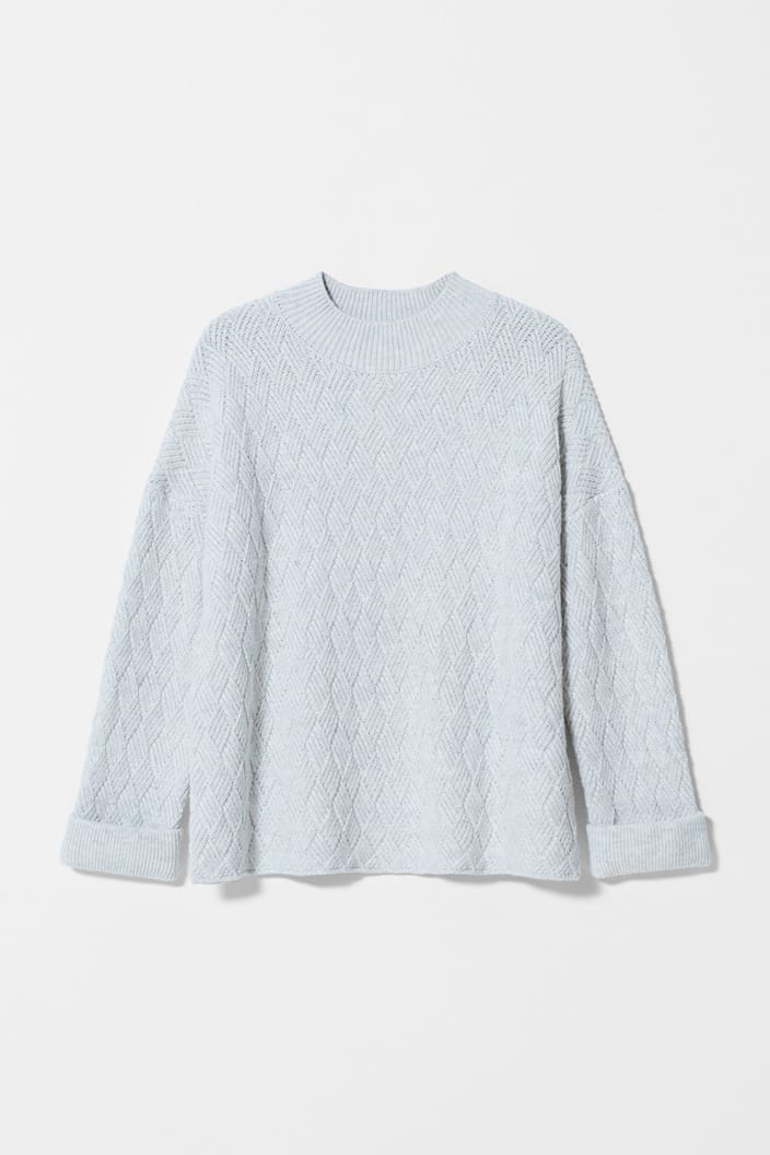 ELK THE LABEL - BODEN SWEATER - ICE FLECK - Tempted Kensington
