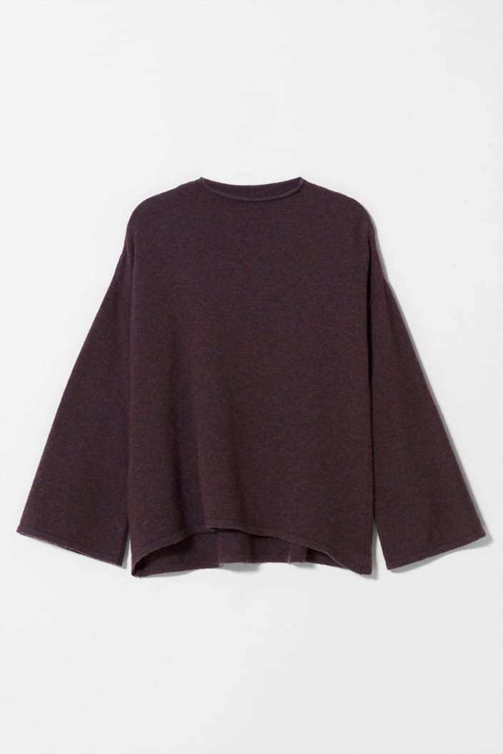 ELK THE LABEL - HOPPER SWEATER - RED - Tempted Kensington