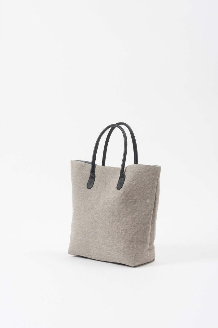 CITTA - CANVAS SHOPPING BAG - GREY temp - Tempted Kensington