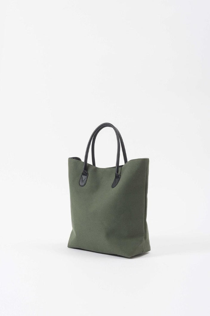 CITTA - CANVAS SHOPPING BAG - OLIVE temp - Tempted Kensington