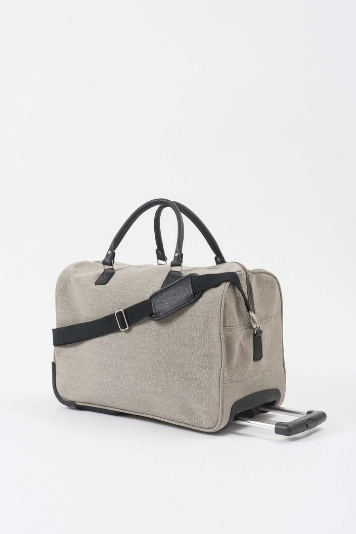 CITTA - CANVAS TROLLEY BAG - GREY temp - Tempted Kensington