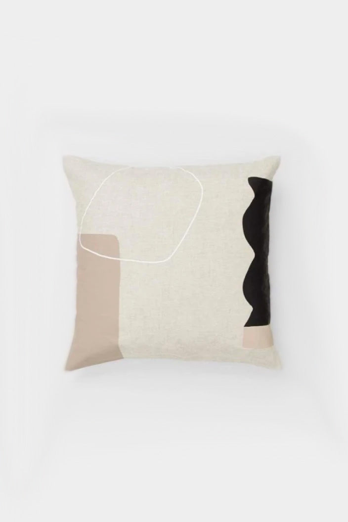 MIDDLE OF NOWHERE - ARLES CUSHION - SQUARE - FAWN - Tempted Kensington