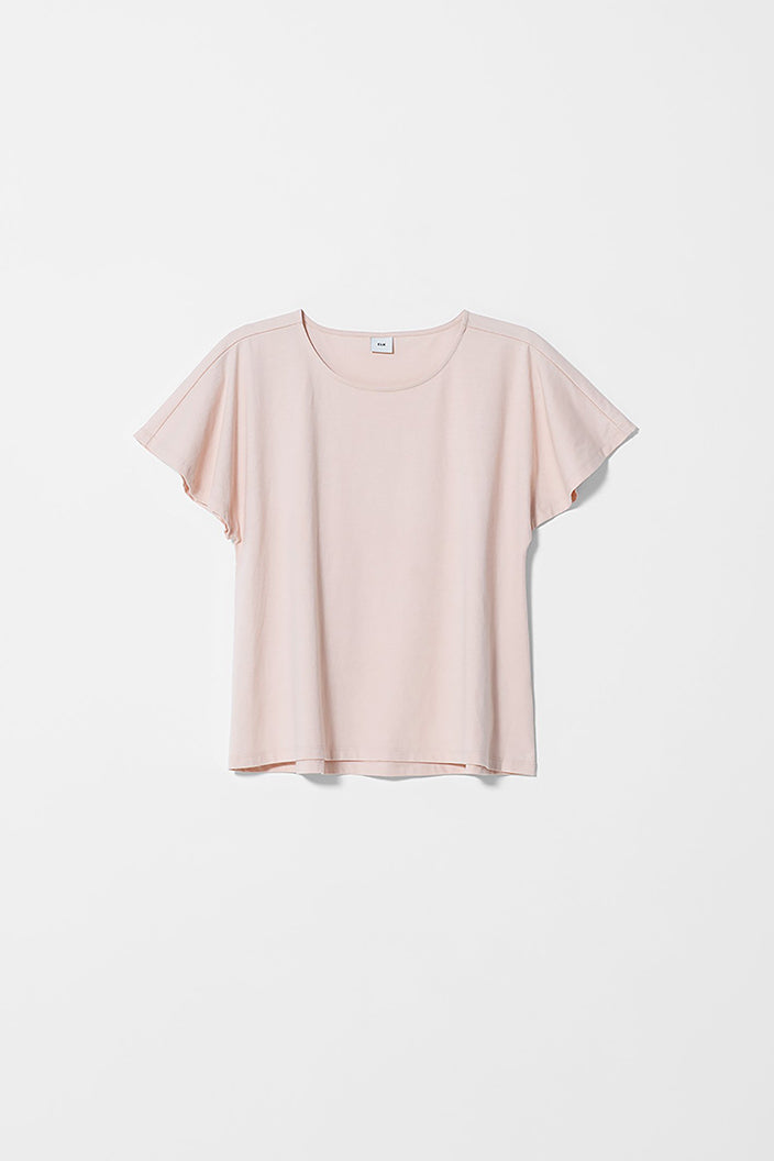 ELK THE LABEL - FLUTTER TEE - CHAMPAGNE - Tempted Kensington