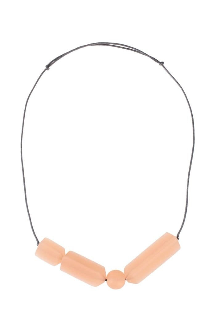 ELK THE LABEL - NECKLACE MATERA SHORT - CHAMPAGNE - Tempted Kensington