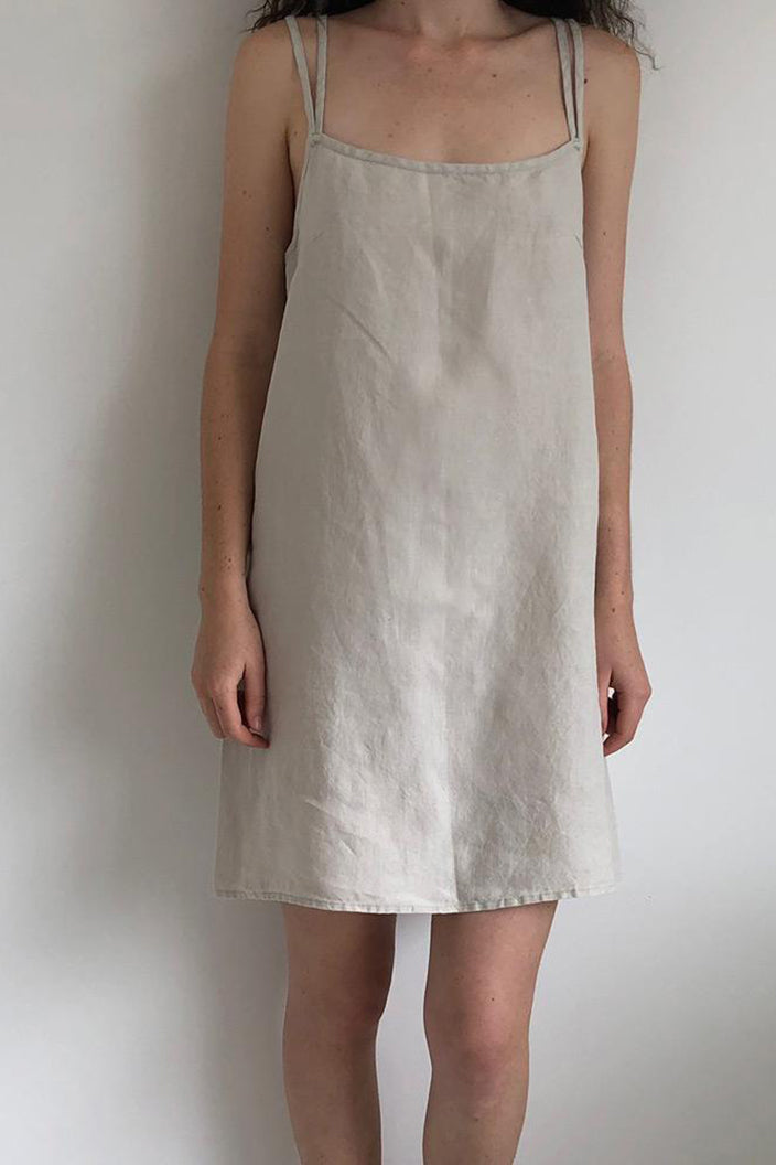 MISS MOLLY - SHORT SLIP - LINEN - Tempted Kensington